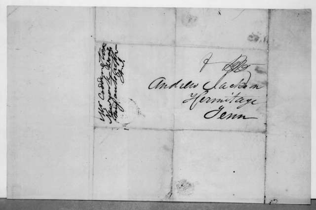 David L. Coddington to Andrew Jackson, April 22, 1843