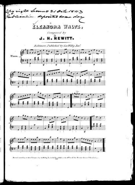 Eleanora waltz