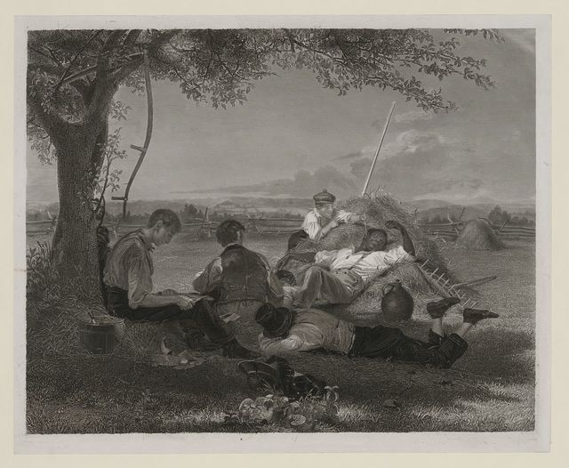 [Farmers nooning, from the original picture in the possession of Jona. Sturges Esqr.] / Wm. S. Mount 1836.