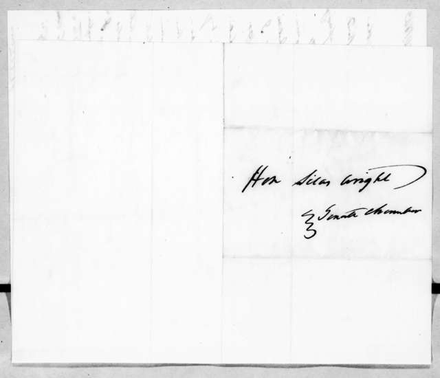 Francis Preston Blair to Silas Wright, Jr., February 20, 1843