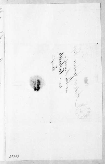 G. A. Briant to Alexander Armstrong, September 29, 1843