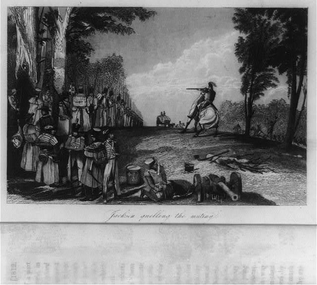Jackson quelling the mutiny