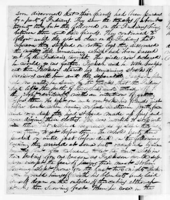 James A. McLaughlin to Amos Kendall, March 13, 1843