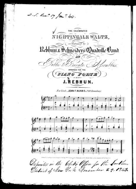 Nightingale waltz