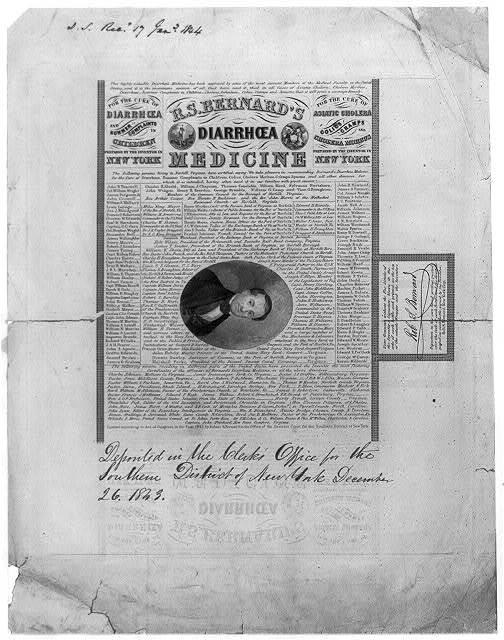 R. S. Bernard's diarrhoea medicine
