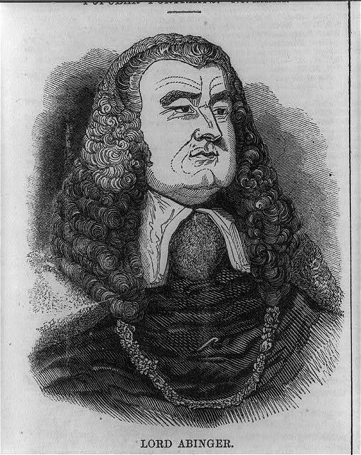 [Sir James Scarlett Abinger, baron, 1769-1844, bust portrait, facing right]