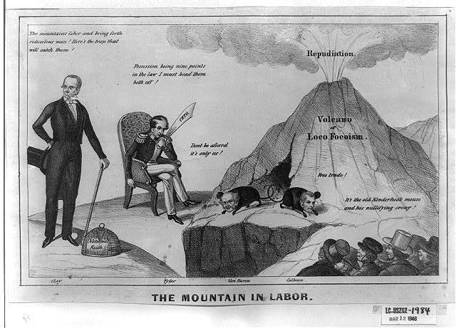 The mountain in labor