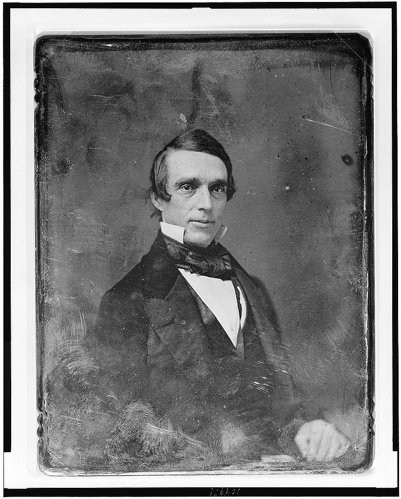 [A. Oakey Hall, half-length portrait, three-quarters to right, eyes front]
