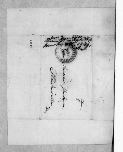 Amos Kendall to Andrew Jackson, November 23, 1844