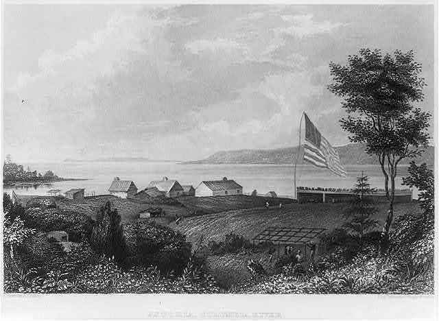 Astoria, Columbia River