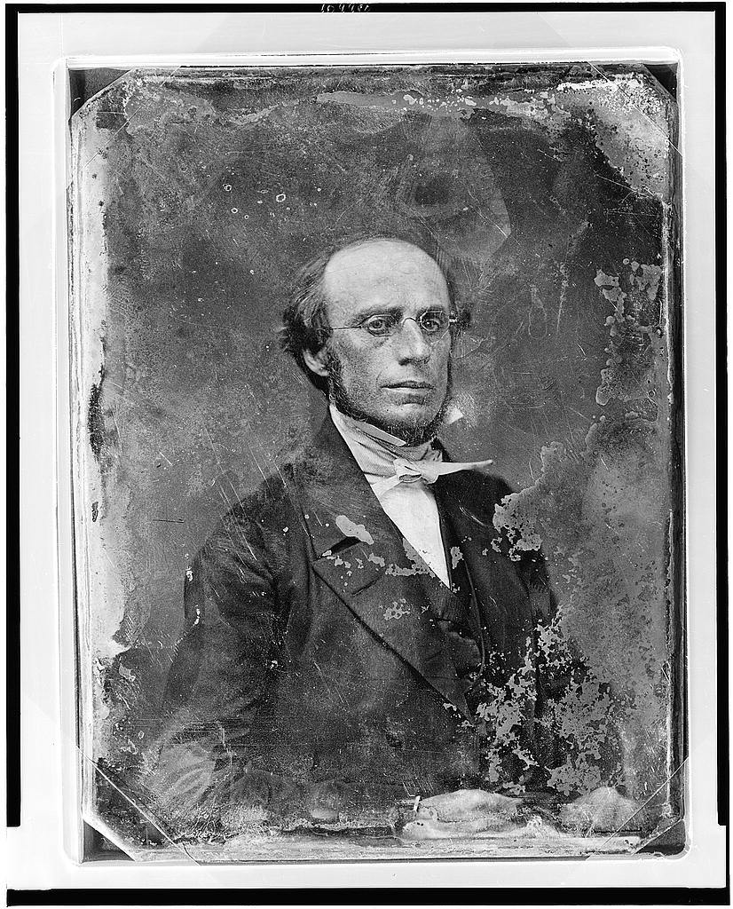 [Charles Edwin West, head-and-shoulders portrait, facing front]