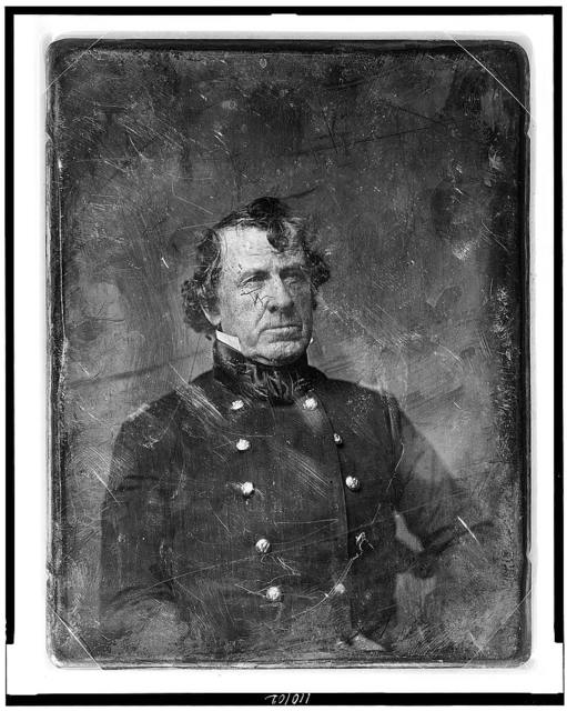 [Colonel William Gates, head-and-shoulders portrait, three-quarters to the right, in military uniform]