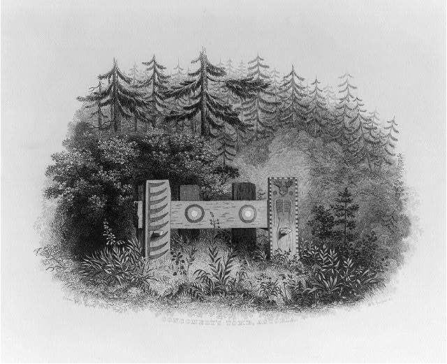 Concomely's tomb, Astoria / drawn by A.T. Agate ; W.E. Tucker sc.