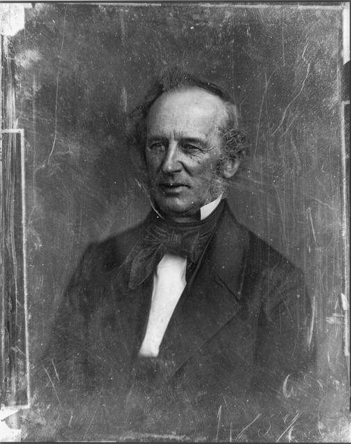 [Cornelius Vanderbilt, head-and-shoulders portrait, slightly to left, with side whiskers]