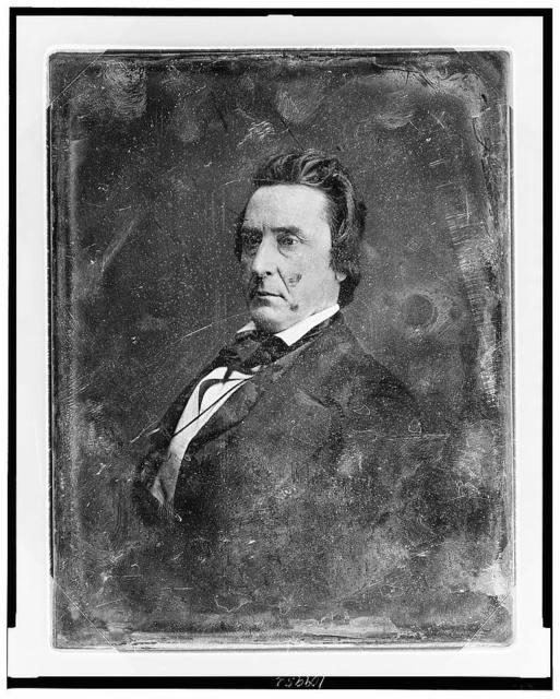 [David Rice Atchison, half-length portrait, facing three-quarters to left]
