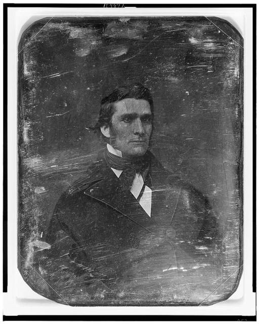 [Erastus Brooks, head-and-shoulders portrait, three-quarters to the right]