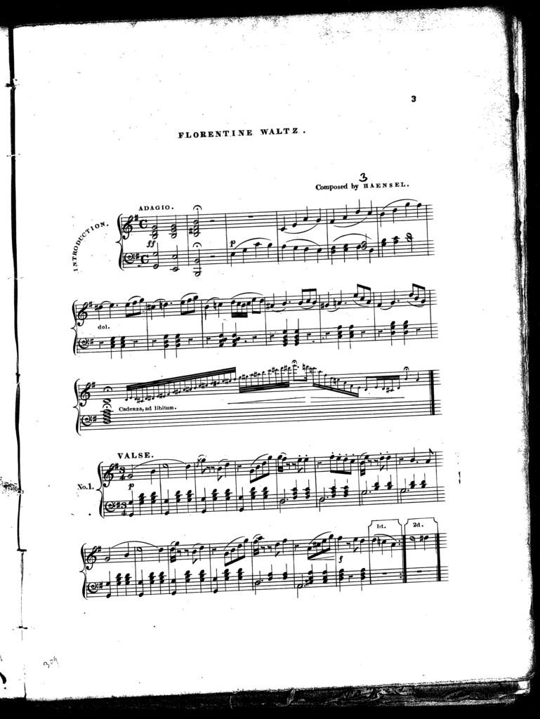 Florentine waltz