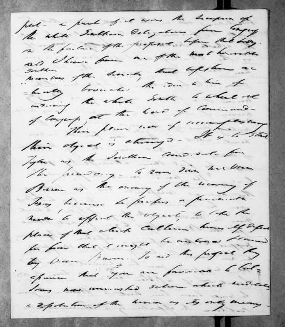 Francis Preston Blair to Andrew Jackson, May 2, 1844