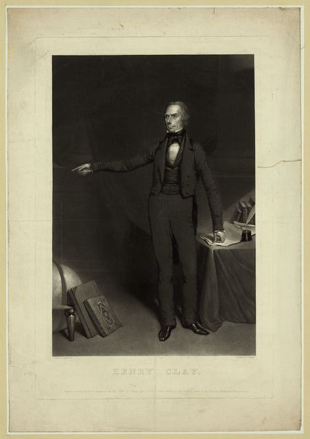 Henry Clay / painted by James Wise ; engraved by J. Sartain.
