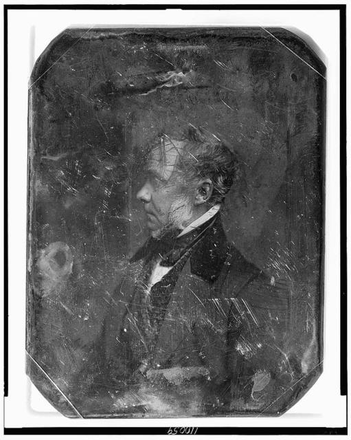 [Henry Grinnell, head-and-shoulders portrait, profile to the left]