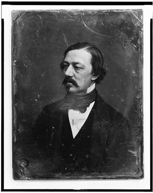 [Henry William Herbert, head-and-shoulders portrait, three-quarters to left, with mustache and imperial]