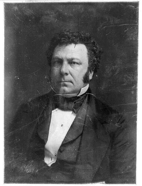 [James Alfred Pearce, head-and-shoulders portrait, nearly facing front]
