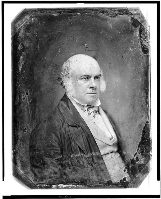 [James Bruce Elgin, 8th Earl of Elgin, head-and-shoulders portrait, three-quarters to right]