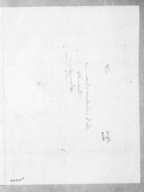 James Knox Polk to Andrew Jackson, February 22, 1844
