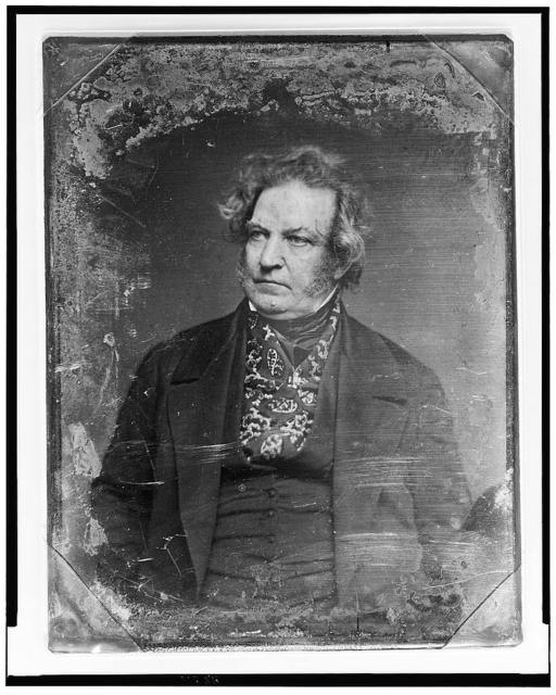 [James Moore Wayne, half-length portrait, facing slightly left]