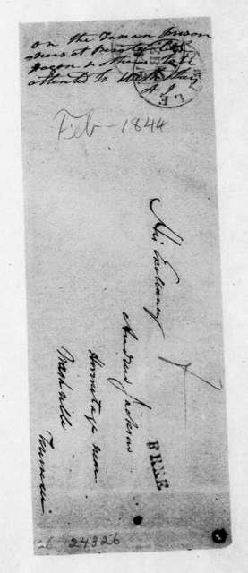John B. Hogan to Andrew Jackson