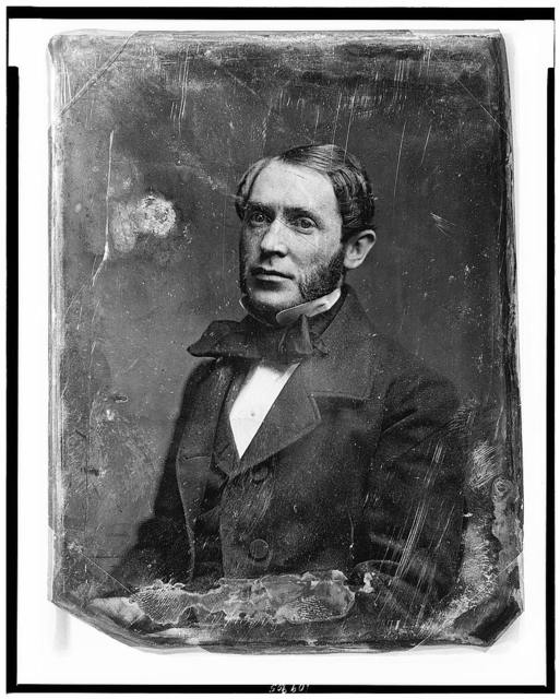 [John Hill Wheeler, half-length portrait, three-quarters to left]