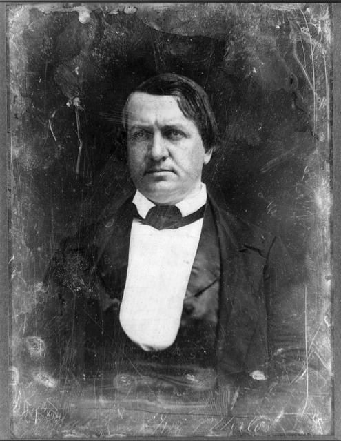 [John P. Hale, head-and-shoulders portrait, facing front]