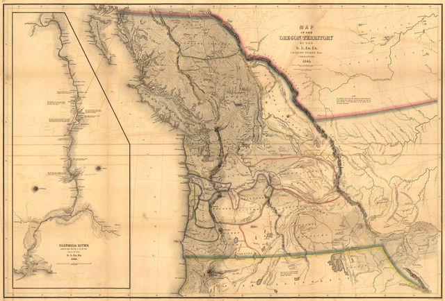 Map of the Oregon Territory /