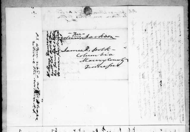 Moses Dawson to Andrew Jackson, November 13, 1844