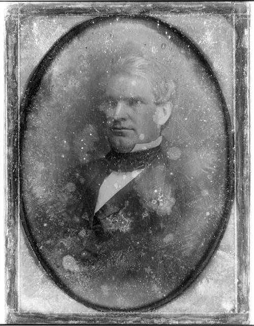 [Nathan Kelsey Hall, half-length portrait, three-quarters to the left]
