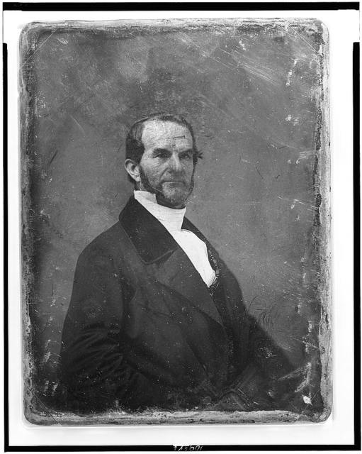 [Ralph Hoyt, half-length portrait, three-quarters to the right, holding a book]