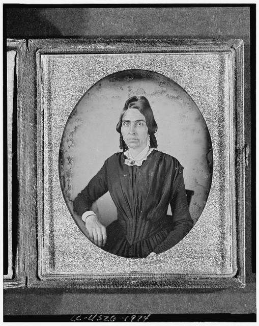 [Ruth Fitts, three-quarter length portrait of a woman, full face]