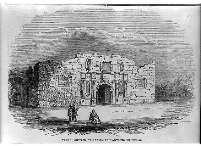 Texas: Church of Alamo, San Antonio de Bexar