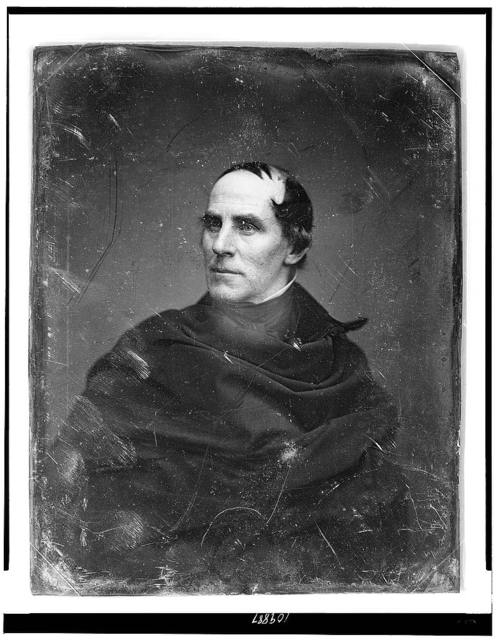 [Thomas Cole, head-and-shoulders portrait, facing slightly left]