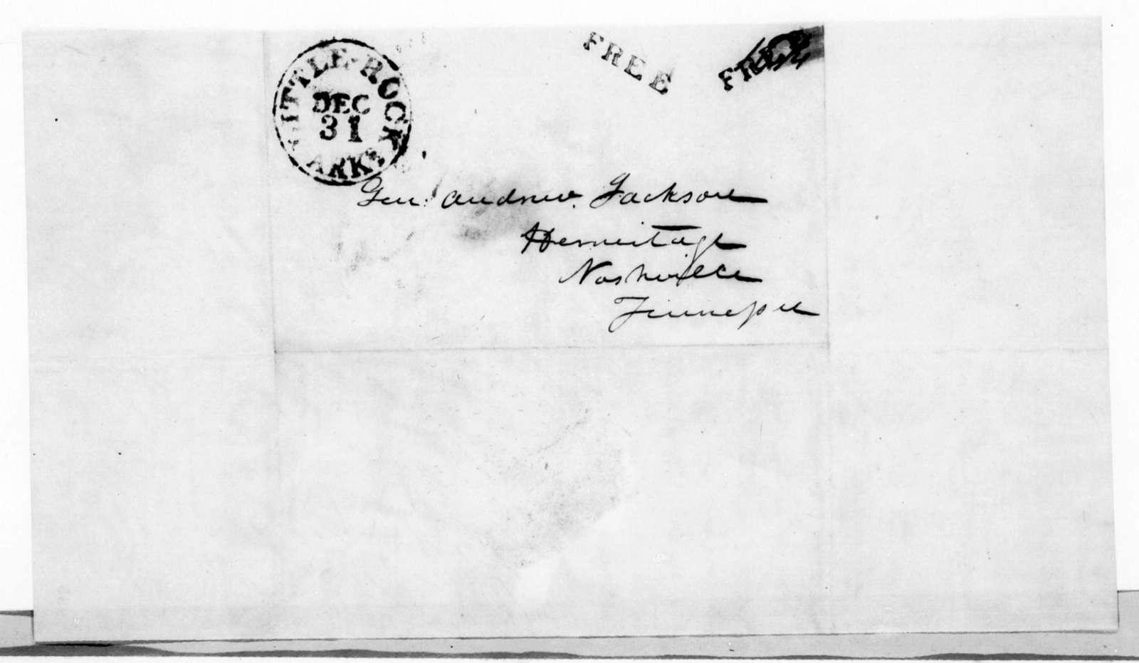 Thomas Mann Randolph Bankhead to Andrew Jackson, December 30, 1844