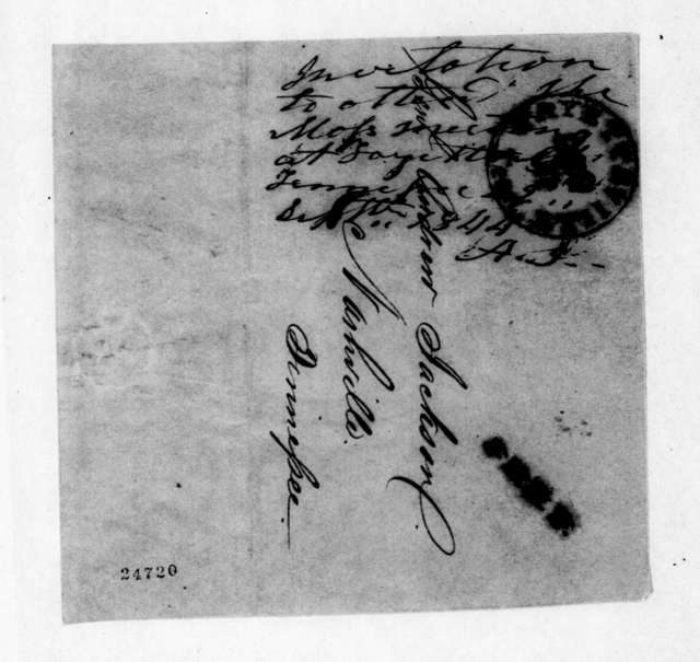 to Andrew Jackson, September 22, 1844