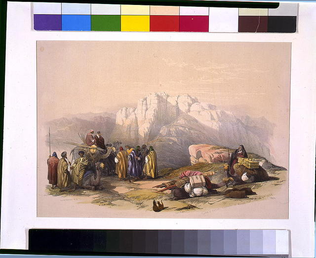 Tomb of Aaron Summit of Mount Hor March 11th / David Roberts, R.A.