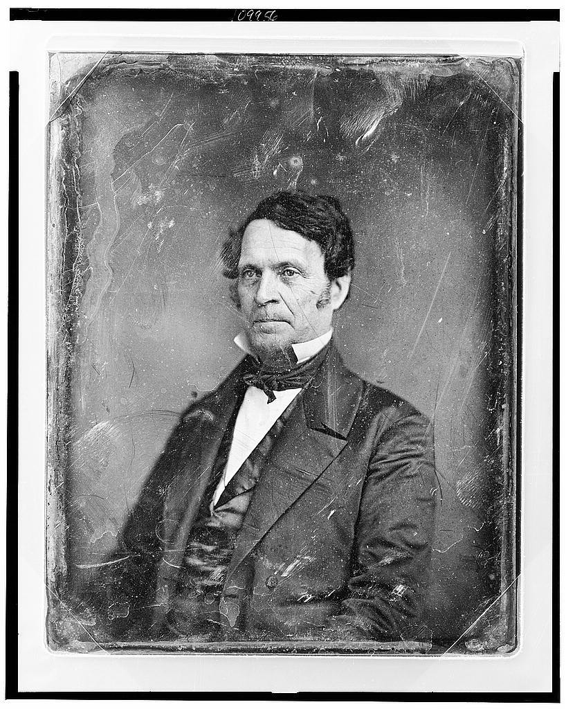 [Unidentified man, about 40 years of age, half-length portrait, three-quarters to left]