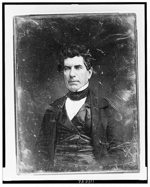 [Unidentified man, about 45 years of age, half-length portrait, slightly to the left]