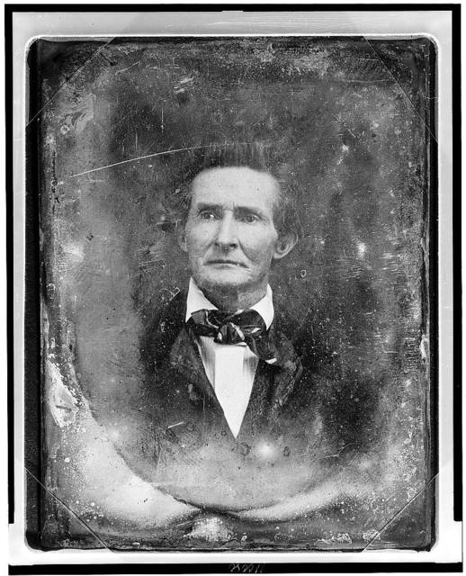 [Unidentified man, about 45 years of age, head-and-shoulders portrait, nearly facing front]