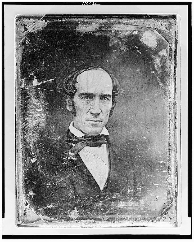 [Unidentified man, about 50 years of age, head-and-shoulders portrait, nearly facing front, slightly to the right]