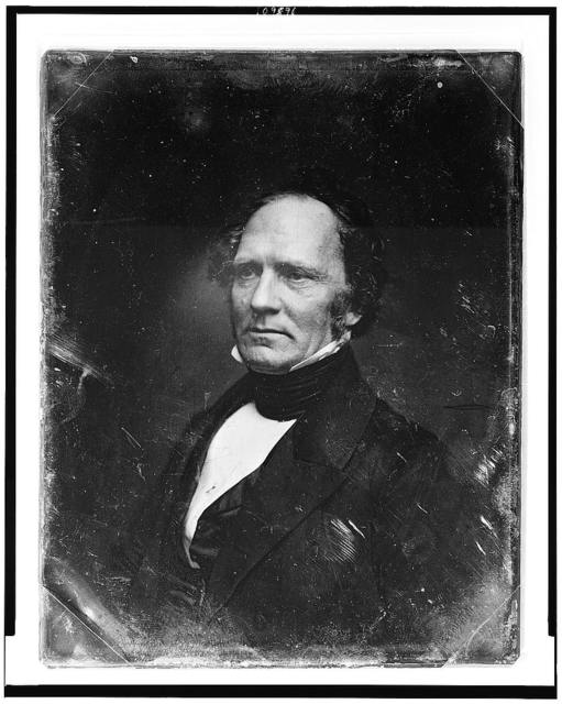 [Unidentified man, about 55 years of age, head-and-shoulders portrait, three-quarters to the left]