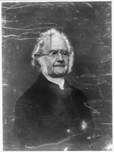 [Unidentified man, about 70 years of age, half-length portrait, three-quarters to the right, wearing spectacles]