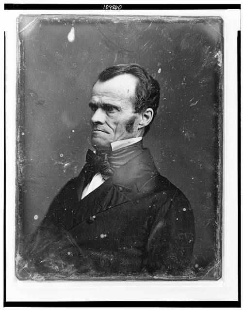 [Unidentified man, half-length portrait, facing left]