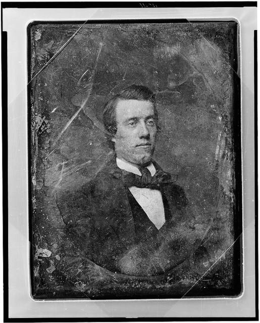 [Unidentified man, head-and-shoulders portrait, three-quarters to the right]